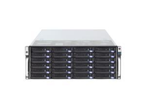 36-bay storage server 4U chassis / equipped with 6Gb / s Expander expansion backplane, Mini-sas interface (SFF8087), with temperature control, with SGPIO, with time-sharing start / empty chassis