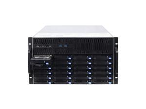 6U hot-swappable 48 hard drive enclosure 6GB extended backplane storage server chassis IPFS Empty chassis