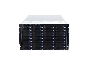 6U hot-swappable 60 hard drive box 6GB extended backplane storage server chassis IPFS empty chassis