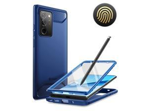 Samsung Galaxy Note 20 Ultra Case, [Xenon Series] Full-Body Rugged Case with Built-in 3D Curved Screen Protector for Galaxy Note 20 Ultra (2020 Release) (Blue)