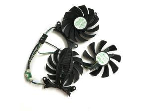 3pcs/lot computer Graphics card fan 85mm 4Pin VGA GPU Cooler For ZOTAC GeForce GTX970 980TI 1070 1080 Video Card cooling