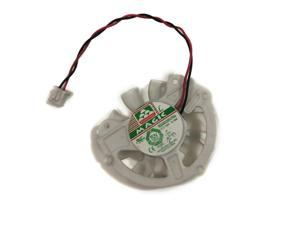 Model B 12V 0.19A 2Pin 2 Wires MGA5012XR-O10(B) Blower With White Frame GPU VGA Cooler Winfast Graphics Video Cards Cooling Fan