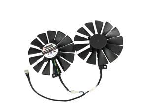1 Set FDC10M12S9-C Graphics Card Cooler Fan For ASUS CERBERUS GTX1070TI A8G GDDR5 Graphics Card Cooling As Replacement
