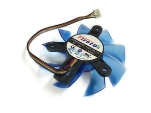 diameter 75mm Computer VGA Cooler Video Card Fan For HIS R7-260X HD5870 5850 Graphics Card cooling