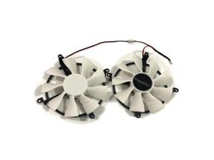 MAXSUN R9 380/270X/370 GPU VGA Card Cooler Fan For MAXSUN R9 270X R9 380 R9 370 1024SP Video Graphics Card As Replacement