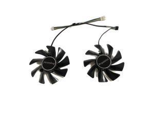 2pcs/set HD7950 GPU VGA Cooler Fan For Sapphire VAPOR-X HD 7950 vapor x Graphics Card Cooling As Replacement