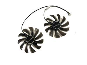 DIY 2pcs/set 95MM GAA8S2U RX 5700 GPU VGA Cooler Fan For Powercolor dataland RX5700 XT 8G X Video Cards Cooling