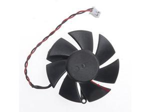 Diameter 45mm DF0501012SEE2C 0.05A 2pin Computer Vedio Card VGA Cooler Fan For sapphire HD6450 Graphics card cooling