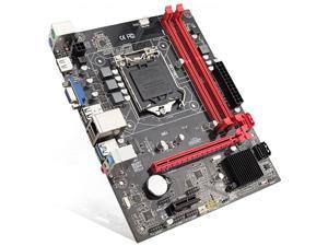 H81 Desktop Computer Motherboard Socket Lga 1150 Pins I3 I5 3470 4590 Cpu Super B85 Micro-Atx Uefi Bios
