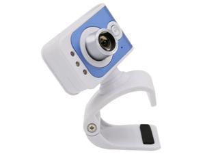 Webcam USB Drive-Computer Camera Built-in Microphone with 3 LED Fill Lights for Laptop PC (480P)