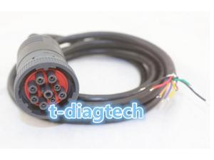 for deutsch 9 pin Cable J1939 (9pin) to Open End 6ft 9pins Wired dvf12SAE J1939 or SAE J1708 cable