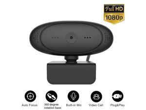 30FPS USB 2.0 HD Webcam Camera Web Cam With Mic For Computer PC Laptop Desktop 1080P Auto Focus Web Camera,Red