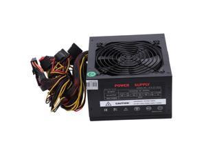 170-260V Max 600W Power Supply Psu Pfc Silent Fan 24Pin 12V Pc Computer Sata Gaming Pc Power Supply For Intel Amd Computer