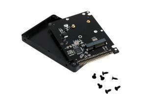 44PIN MSATA To 2.5 Inch IDE HDD SSD MSATA To PATA Adapter Converter Card with Case