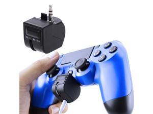 3.5mm Mini Volume Micphone Mute Control Headset Adapter For PS4 Controller VR