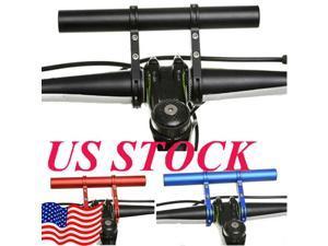 20cm Bicycle Handlebar Extender Flashlight Holder MTB Accessories Extension Bar