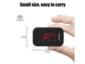 OLED Fingertip Finger Pulse Oximeter SpO2 PR Blood Oxygen Meter Patient Monitor