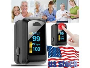 Fingertip Pulse Oximeter Oxygen Saturation Meter SPO2 PR Blood Monitor Finger US Shipping