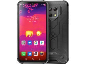 """Rugged Cell Phone Unlocked, Blackview BV9800 Pro Thermal Imaging, 6GB+128GB Helio P70 Android 9.0 Waterproof Smartphone 48MP+16MP Cameras Wireless Charging 6.3"""" FHD+ 6580mAh 4G Dual SIM Phones"""