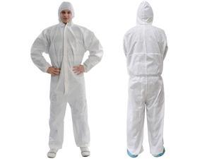 <b>Hooded disposable jumpsuit protective suit factory hospital safety clothing robe</b>