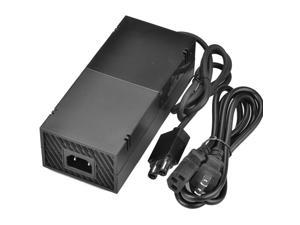 Xbox One Power Supply Brick Charger Replacement Accessory Kit [Advanced QUIET] with AC Adapter Cord & 2.85 Feet Cable 100-240V for Xbox One Console - Black