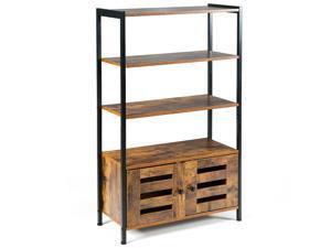 Shutter Doors Industrial Storage Shelf w/2