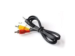 60cm 3.5mm Jack Plug Male to 3 RCA Adapter High Quality 3.5 to RCA Male Audio Video AV Cable Wire Cord