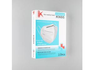 40pcs Non-Disposable Protective Surgical Face Mask Nonwoven Fabrics 5 Layers