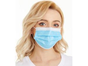 40pcs Disposable Mask Earloop Face Mask Non-woven Thickened Disposable Mouth Mask Protection Anti Dust Masks
