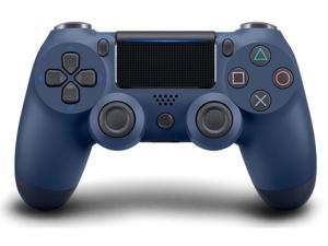 PS4 Controller Wireless, Dual Shock High Performance Gaming Controller for PS 4 Pro Slim PC with Audio Function, Mini LED Indicator