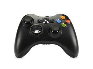 Xbox 360 Wired Controller USB Gamepad Joypad with Shoulders Buttons Joysticks for Microsoft Xbox360/Xbox 360 Slim/Window XP/Vista/PC Windows 7 8 10 Game Pad (Black)