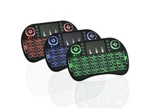 Mini Wireless Keyboard LED Backlit Touchpad Mouse Combo for HDPC PC Android TV Mini with Mouse for PC,PAD, XBox 360 PS3 Google Android TV Box HTPC, IPTV keyboard Mobile Phone Windows Mac Linux