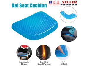 Egg Sitting Gel Cushion Seat Sitter Flex Pillow Support Sit On An Egg Supports Breathable Seat Cushion Gel Flex Sitting Cushion Back Support Blue