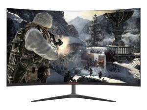 "Vicabo BUBALUS G270Q 27"" 165 Hz 2K QHD Curved Gaming Monitor Quad HD 2560 x 1440 VA Display, Contrast 4000:1, 1800R Curvature Radius, AMD FreeSync, HDR Ready, DisplayPort, 2x HDMI, 1x USB"