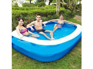 Large Inflatable Family Garden Outdoor Paddling Swimming Pool Fun Summer Relax, Kids Paddling Pools