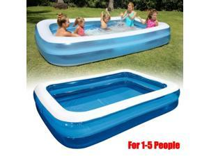 Large Inflatable Paddling Pools Family Kids Swimming Pool Outdoor Garden Summer Holiday