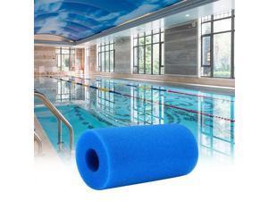 "Washable Reusable Swimming Pool Filter Foam Sponge Cartridge Foam Suitable Bubble Jetted Pure SPA Size 200MM*100MM/ 7.87""*3.93"""