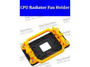 CPU Radiator Fan Holder Computer Desktop Mainboard Bracket Base Mount for AMD AM2/AM2+/AM3/AM3+  3pcs/lot