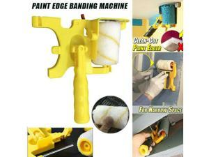Clean-Cut Paint Edger Roller Brush Handle Tool Edger Room Wall Painting Home Garden Painting