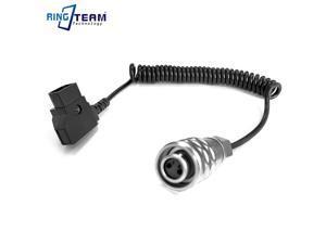 BMPCC 4K Power Cable DTAP with Reinforcement to BMPCC4K Blackmagic Pocket Cinema Camera 4K 40-150CM