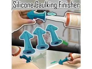 3PCS Silicone Caulking Finisher Tool Nozzle Spatulas Filler Spreader Sealant Smooth Scraper Grout Accessories