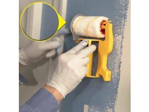 Clean-Cut Paint Edger Roller Brush Safe Tool Brush Painting for Home Room Wall Ceilings