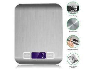 Digital Kitchen scale Multifunction Meat Food Scale with LCD Display for Baking Kitchen Cooking, 5KG Capacity