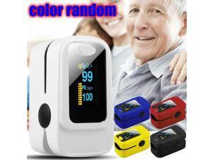 Finger Pulse Oximeter Meter SpO2 Oxygen Monitor PR Blood Saturation LED Fingertip Heart Rate Patient