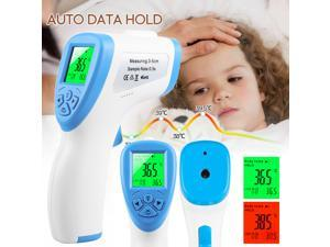 Infrared Forehead Thermometer for Adult and Kids, Premium Non-Contact Medical Temperature Gun for Baby and Child, Fever Digital No Touch Thermometer, LCD Display