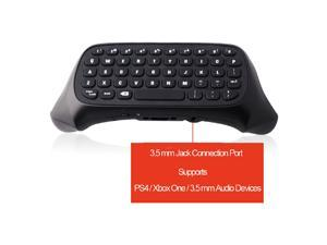2.4G Mini Wireless Keypad Chatpad with 3.5mm Jack Port for Microsoft Xbox One/Xbox One S