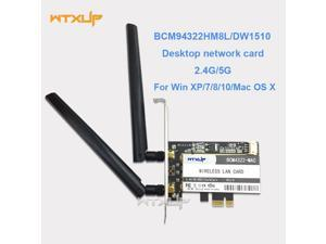 DP-iot 1200M 802.11AC Laptop Dual Band 2.4G//5G USB 3.0 Wireless WiFi Adapter Long Range Network WiFi Dongle with 2 X 5dBi Antenna