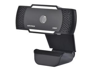 Autofocus Webcam,1080P Full HD Webcam with USB Plug, W920C Computer Laptop Camera for Conference and Video Call, Pro Stream Webcam with Plug and Play Video Calling, Built-in Mic