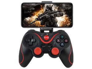Android gamepad controller, wireless button mapping gamepad joystick, suitable for PUBG and Fotonite, etc., suitable for Android Samsung Galaxy HTC LG other mobile phones