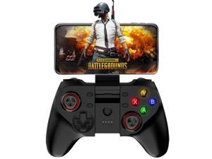 Mobile Game Controller, Wireless Key Mapping Gamepad Joystick Perfect for PUBG & Fortnite & More, Compatible for iOS Android iPhone iPad Samsung Galaxy Other Phone & Tablet PC – No Simulator